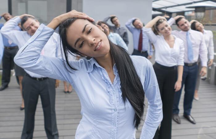 ginástica laboral nas empresas