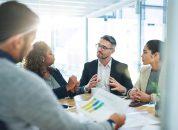 reunião para apresentação de normas da empresa