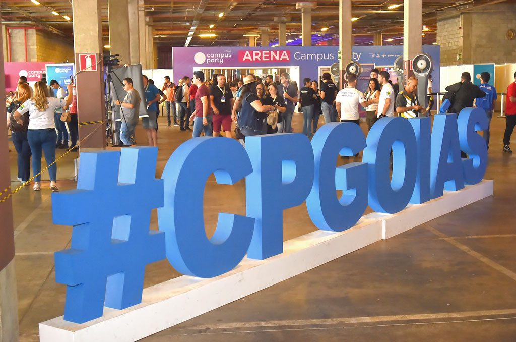 Entrada da Campus Party Goiás