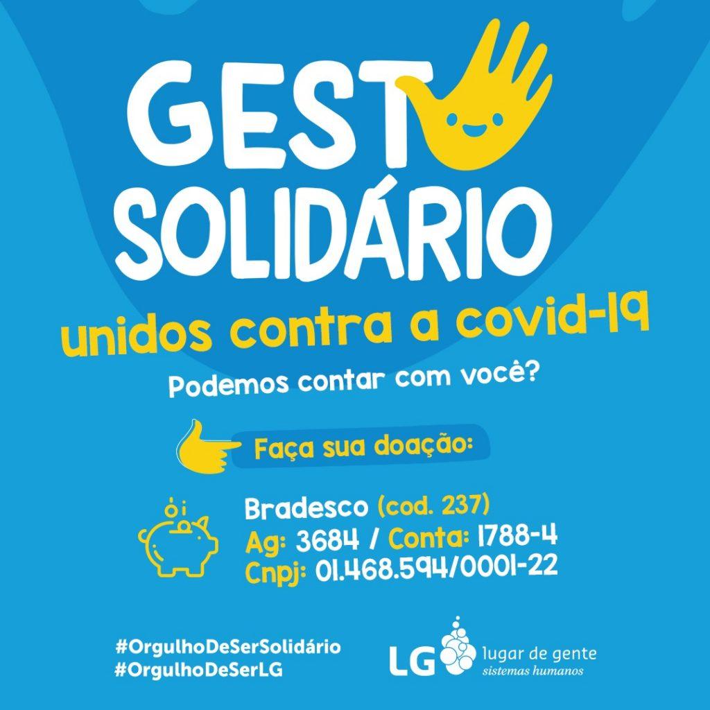 Conheça o Gesto Solidário: uma campanha dos colaboradores da LG lugar de gente