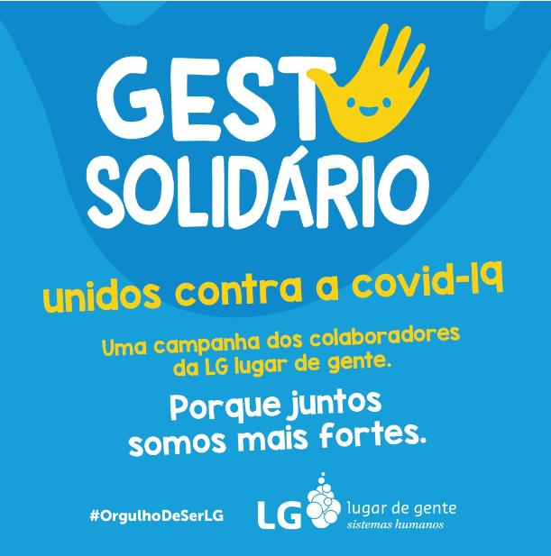 gesto solidário doações covid-19
